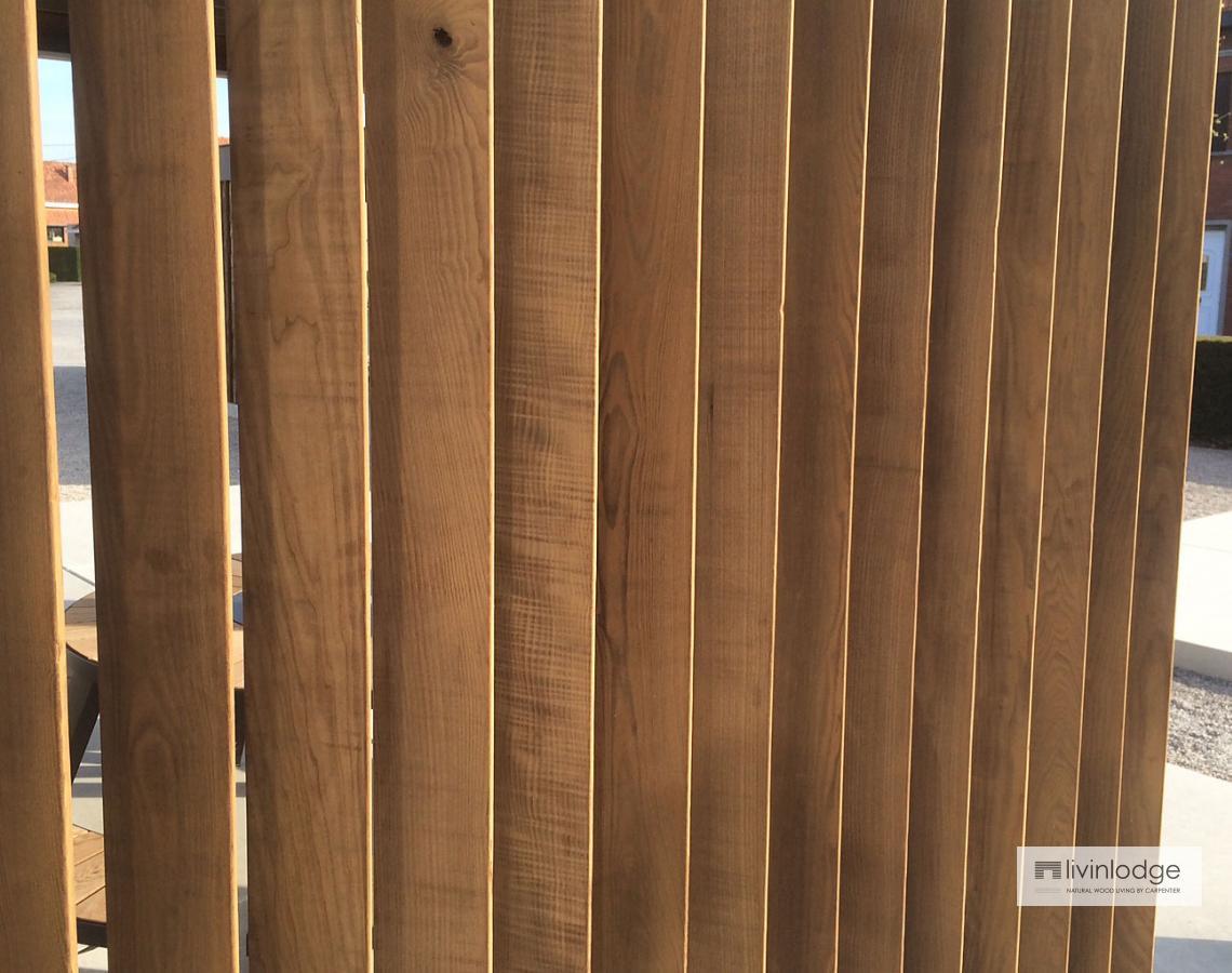 Houten shutters - verticaal | Livinlodge